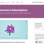 WooCommerce Subscriptions wordpress Plugin